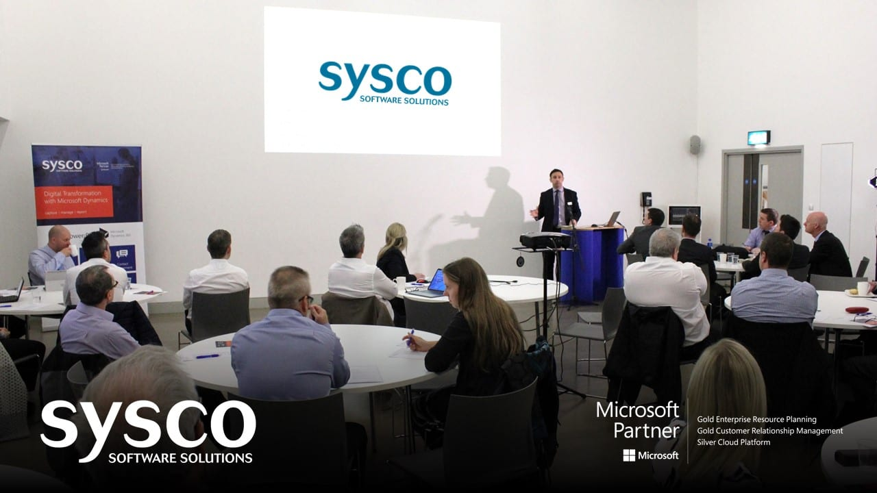Sysco User Day 2017 - Microsoft Dynamics 2017   Sysco Software Solutions