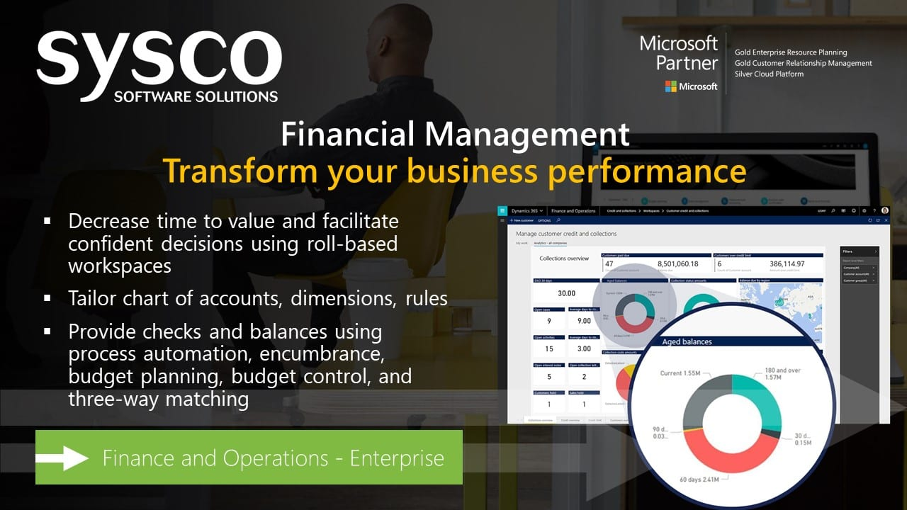 Financial Management with Dynamics 365 for Finance and