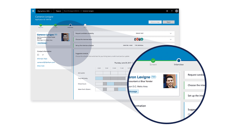 New Release : Microsoft Dynamics 365 for Talent   Sysco Software