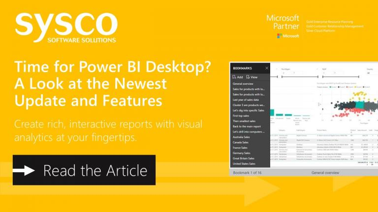 Time for Power BI Desktop? A Look at the Newest Features