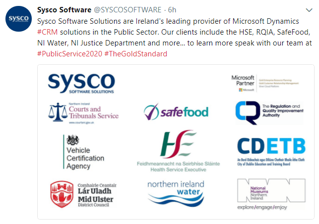 the importance of promoting microsoft dynamics to the public sector at events such as this is paramount to show attendees first hand how ambitious changes