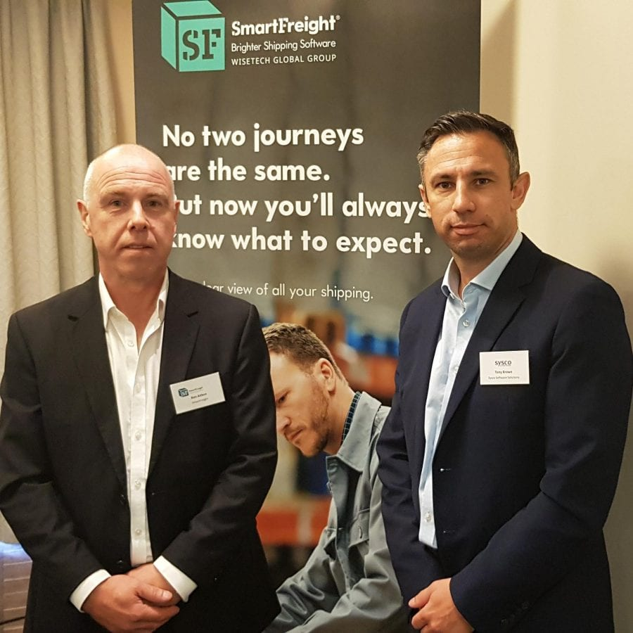 Ken Aitken, CEO of SmartFreight & Tony Brown, Commercial Lead Sysco Software